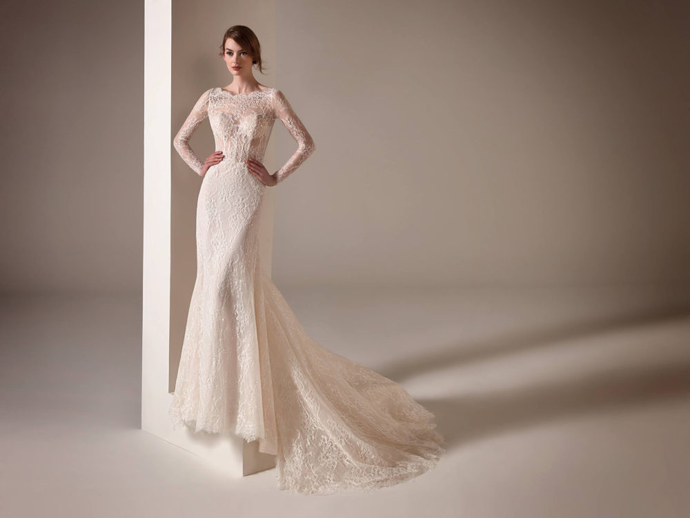 Malala Wedding Dress Gown from Pronovias Privee Collection