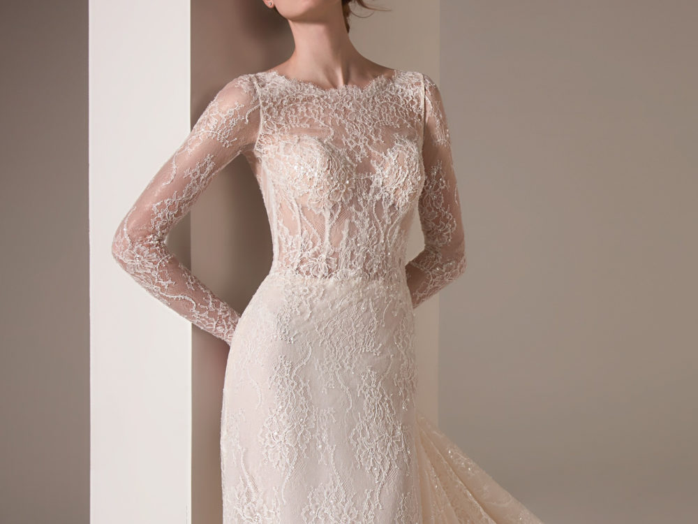 Malala Wedding Dress Gown from Pronovias Privee Collection J
