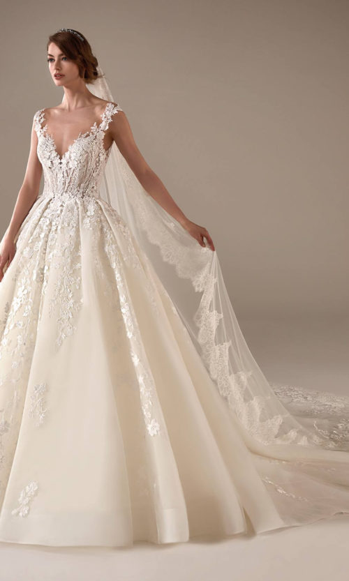 Marissa Wedding Dress Gown from Pronovias Privee Collection