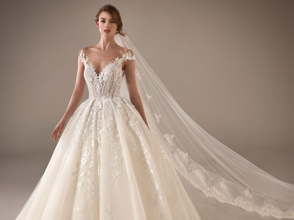 Marissa Wedding Dress Gown from Pronovias Privee Collection D