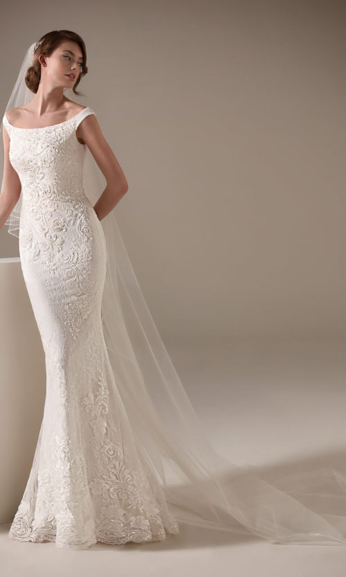 Melinda Wedding Dress Gown from Pronovias Privee Collection