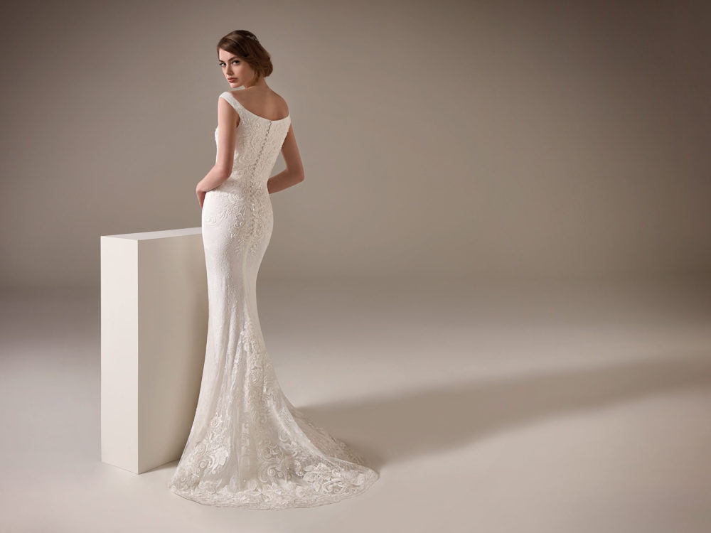Melinda Wedding Dress Gown from Pronovias Privee Collection C