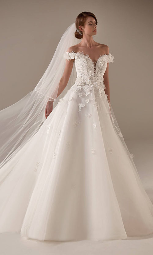 Michelle Wedding Dress Gown from Pronovias Privee Collection