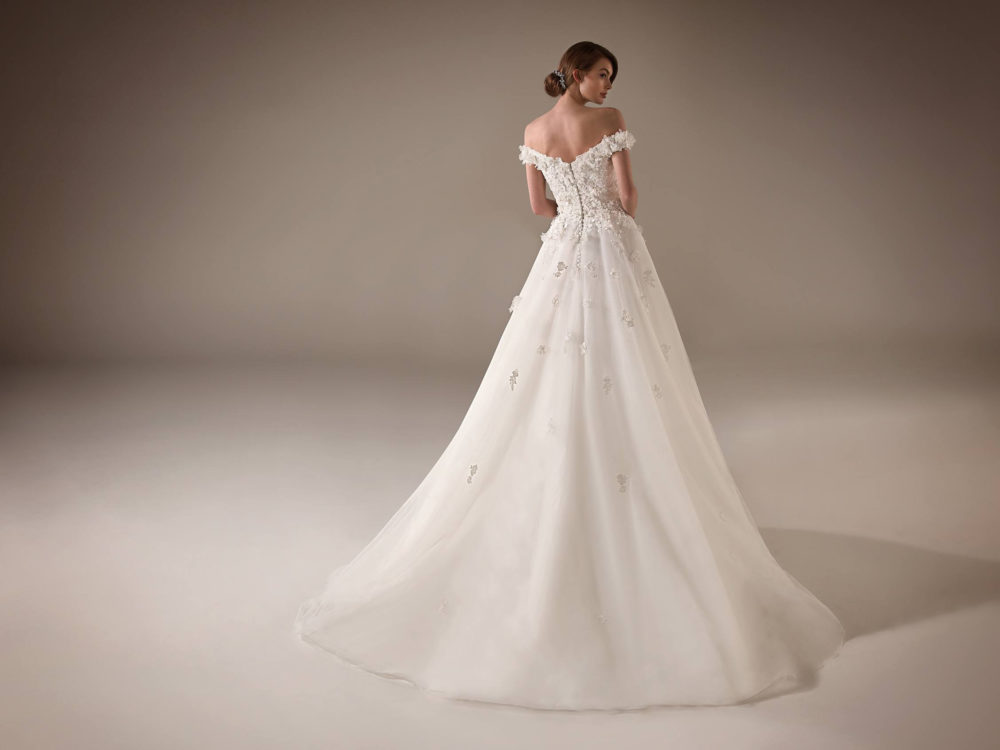 Michelle Wedding Dress Gown from Pronovias Privee Collection C