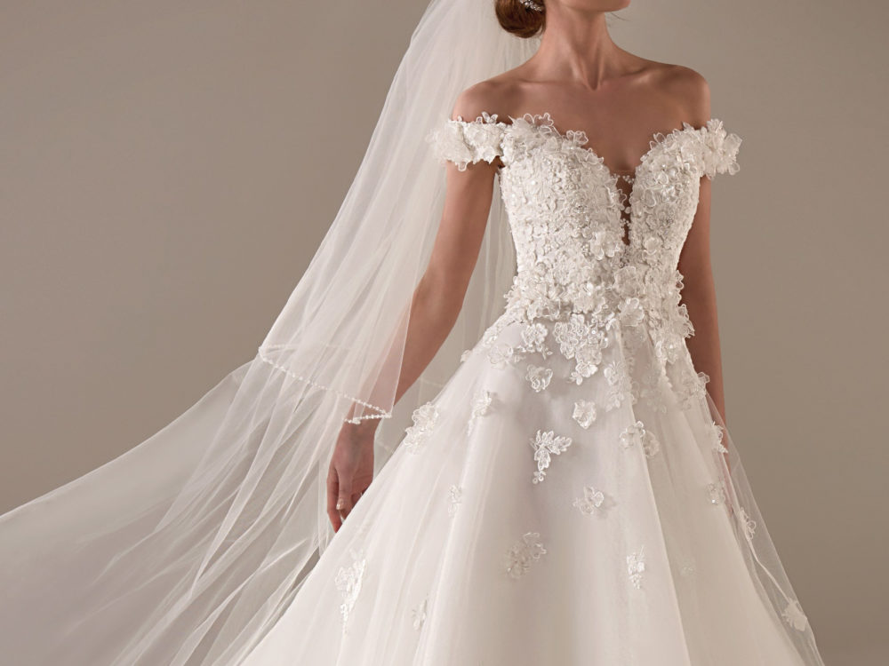 Michelle Wedding Dress Gown from Pronovias Privee Collection H