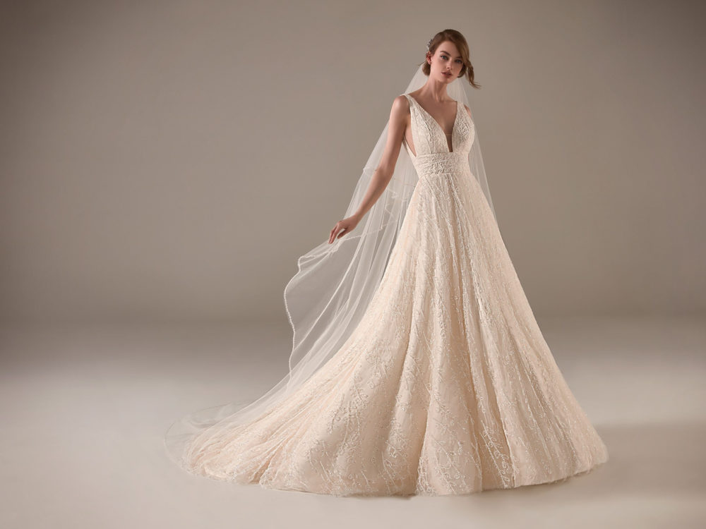Nadia Wedding Dress Gown from Pronovias Privee Collection