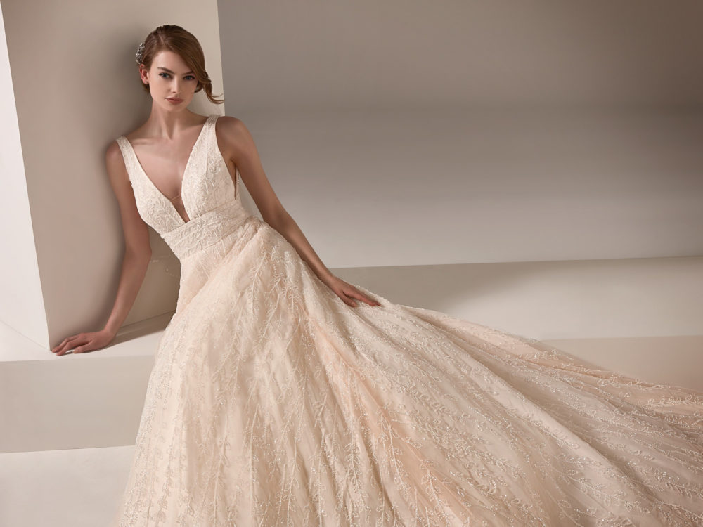 Nadia Wedding Dress Gown from Pronovias Privee Collection D