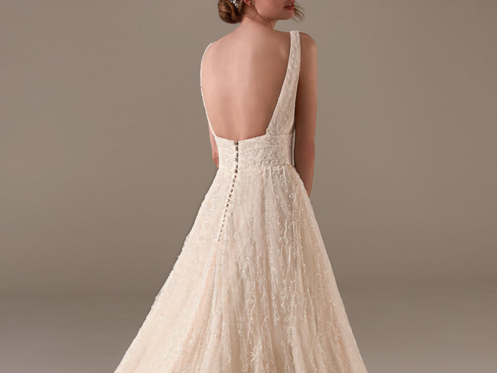Nadia Wedding Dress Gown from Pronovias Privee Collection F
