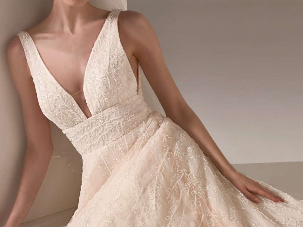 Nadia Wedding Dress Gown from Pronovias Privee Collection G
