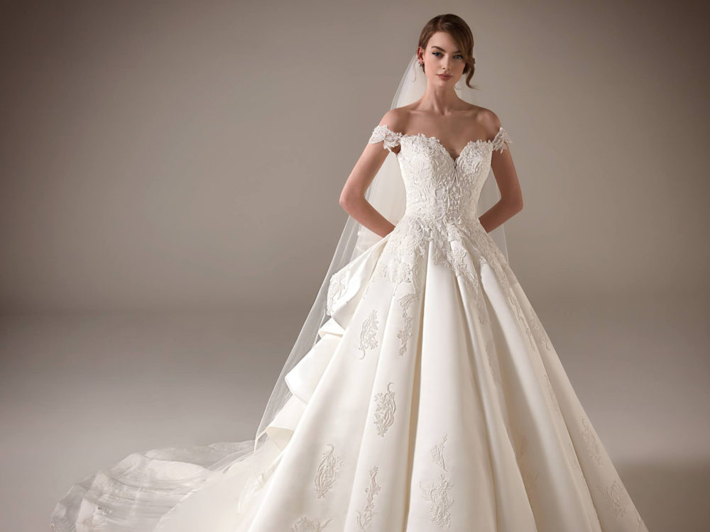 Nancy Wedding Dress Gown from Pronovias Privee Collection D