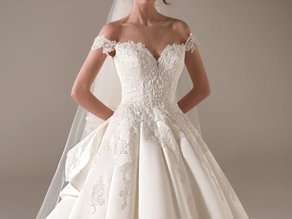 Nancy Wedding Dress Gown from Pronovias Privee Collection J
