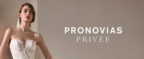 Pronovias Privee Collection Banner