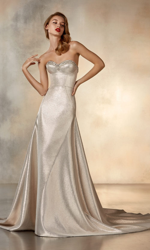 Pronovias Atelier Collection Rising Moon Wedding Gown Dress 2020