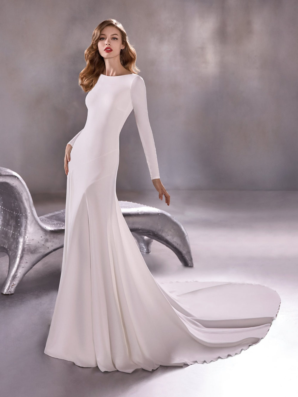 Pronovias Star Moon River Wedding Gown Dress 2020 Atelier Collection