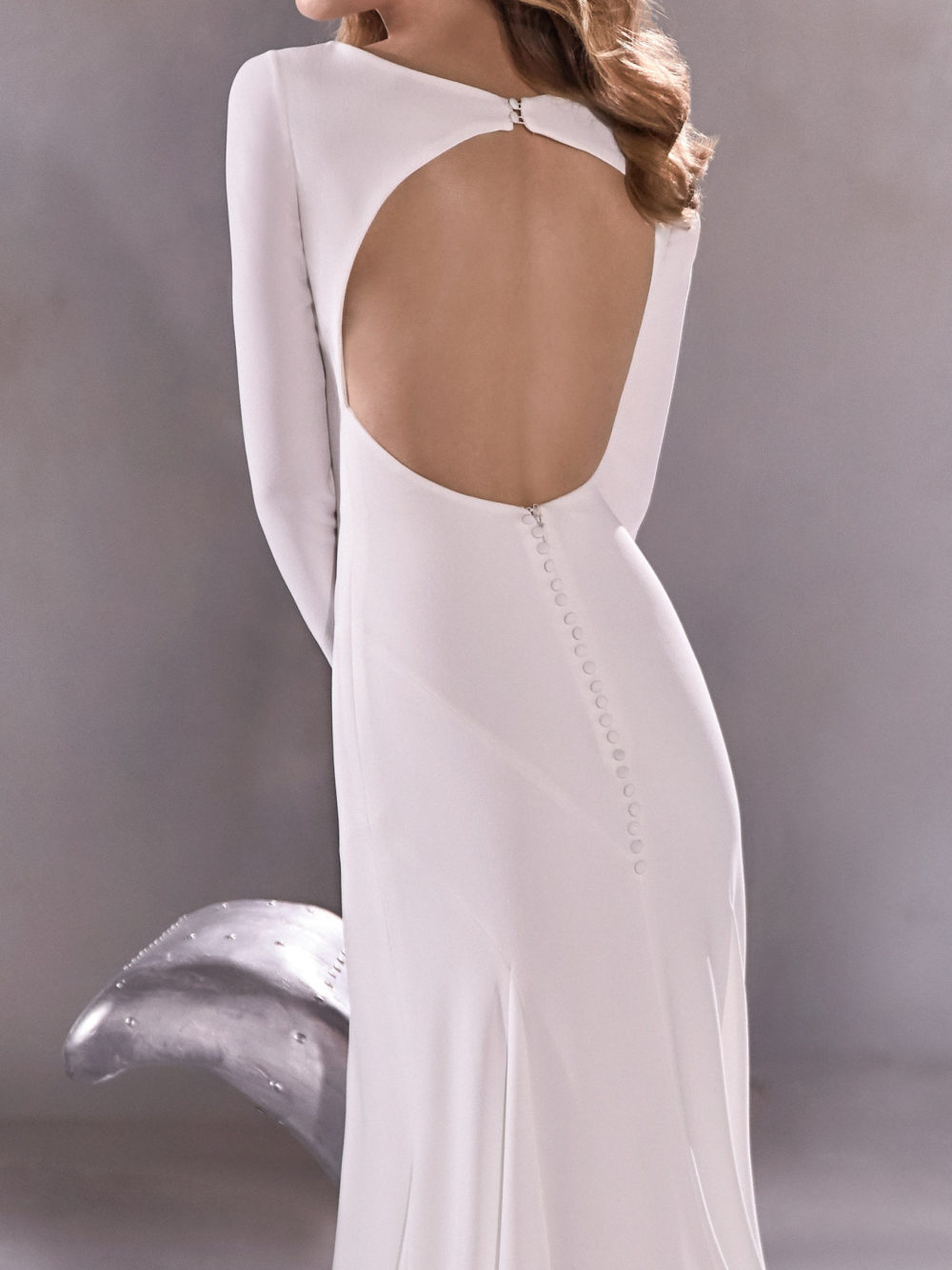 Pronovias Star Moon River Wedding Gown Dress 2020 Atelier Collection back