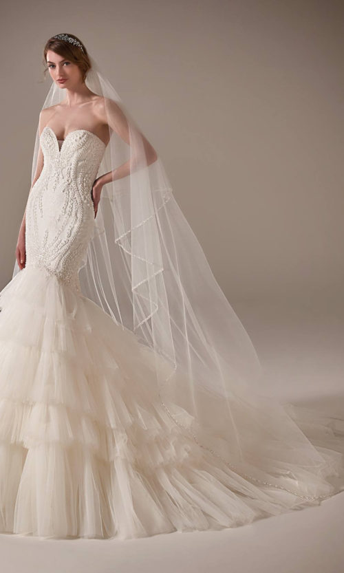 Serena Wedding Dress Gown from Pronovias Privee Collection
