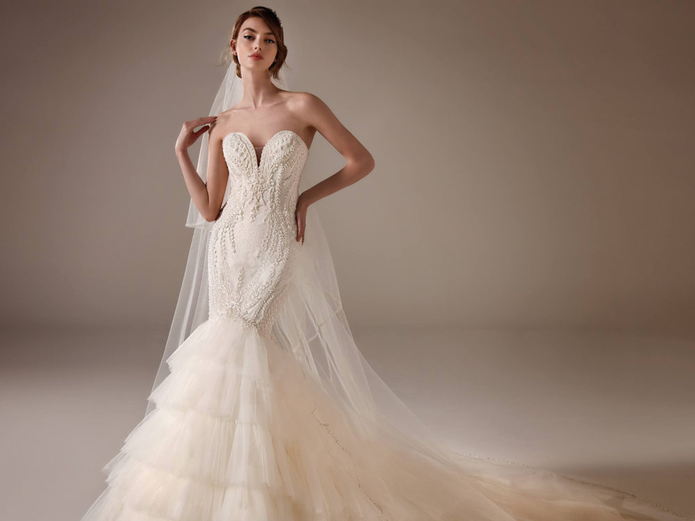 Serena Wedding Dress Gown from Pronovias Privee Collection D