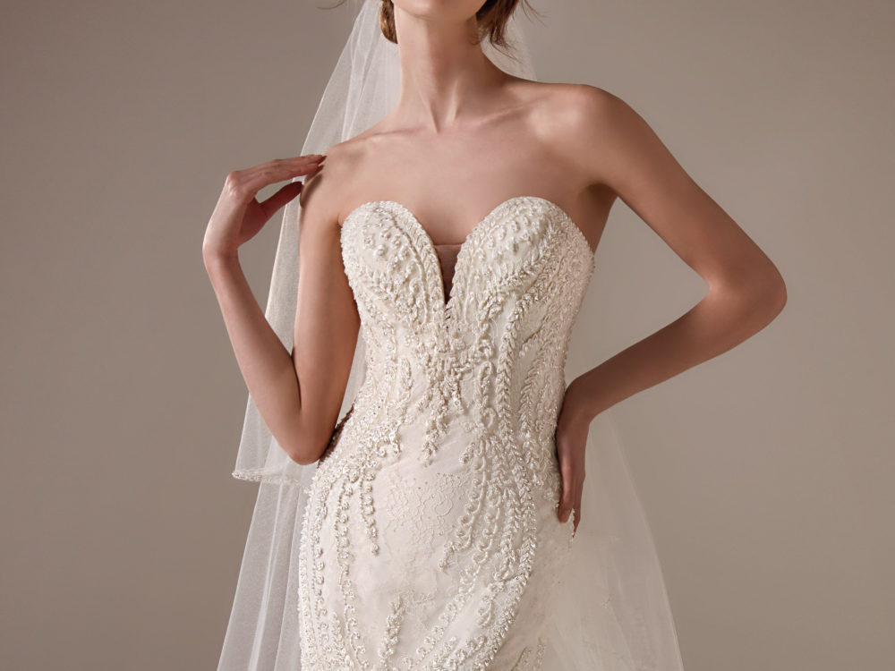 Serena Wedding Dress Gown from Pronovias Privee Collection J