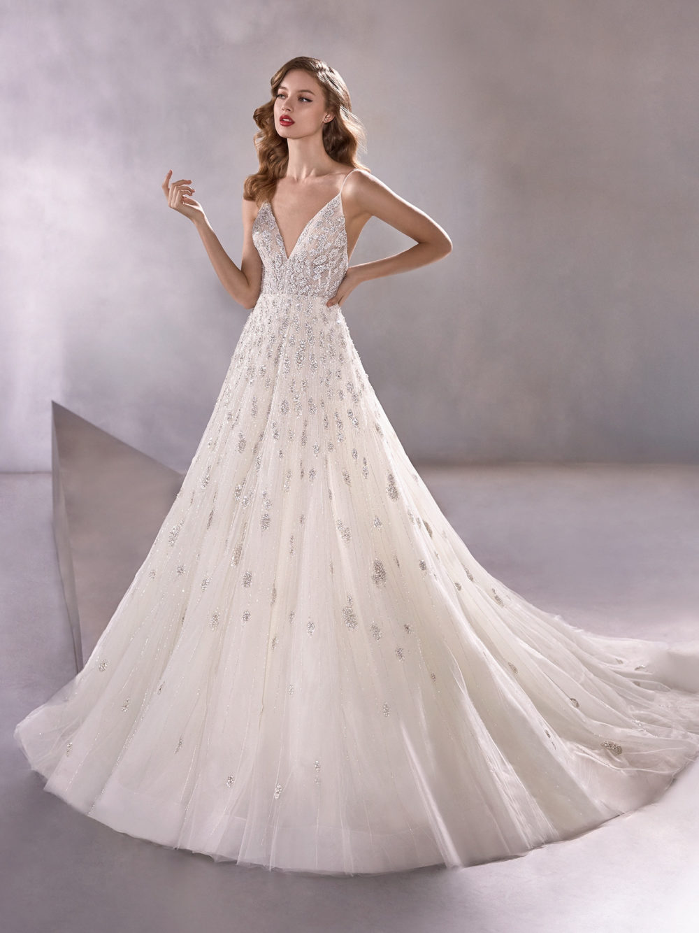 Pronovias Shining Star Wedding Gown Dress 2020 Atelier Collection