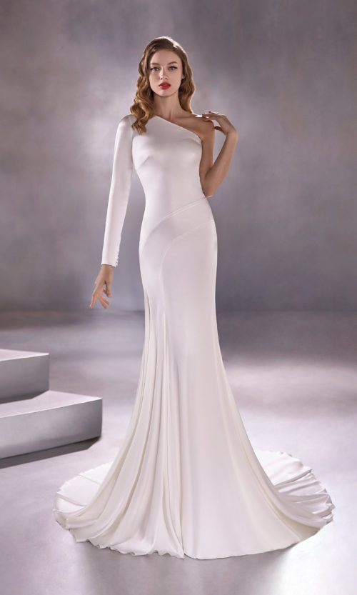 Pronovias Sundrop Wedding Gown Dress 2020 Atelier Collection