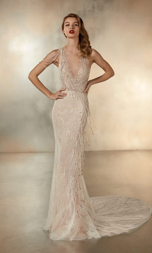 Pronovias The Universe Wedding Gown Dress 2020 Atelier Collection