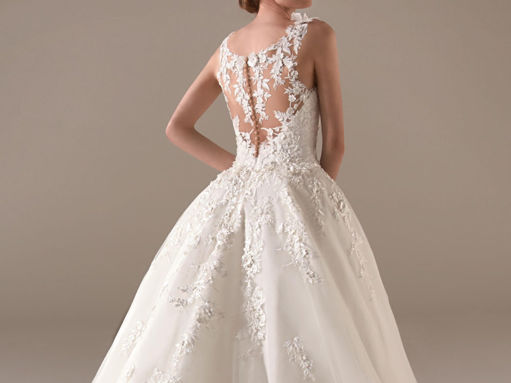 Ursula Wedding Dress Gown from Pronovias Privee Collection D