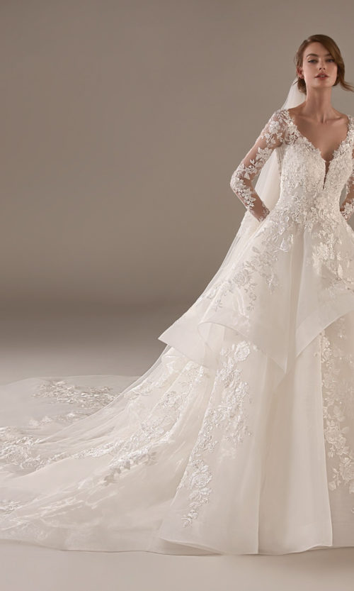 Vivienne Wedding Dress Gown from Pronovias Privee Collection