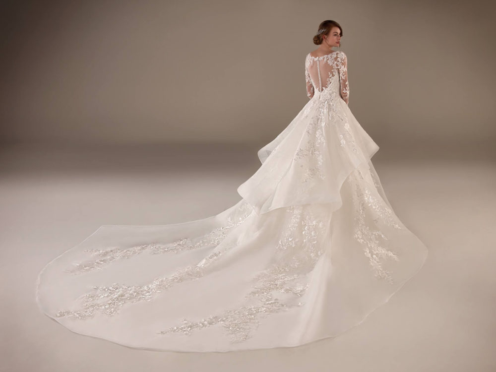 Vivienne Wedding Dress Gown from Pronovias Privee Collection C