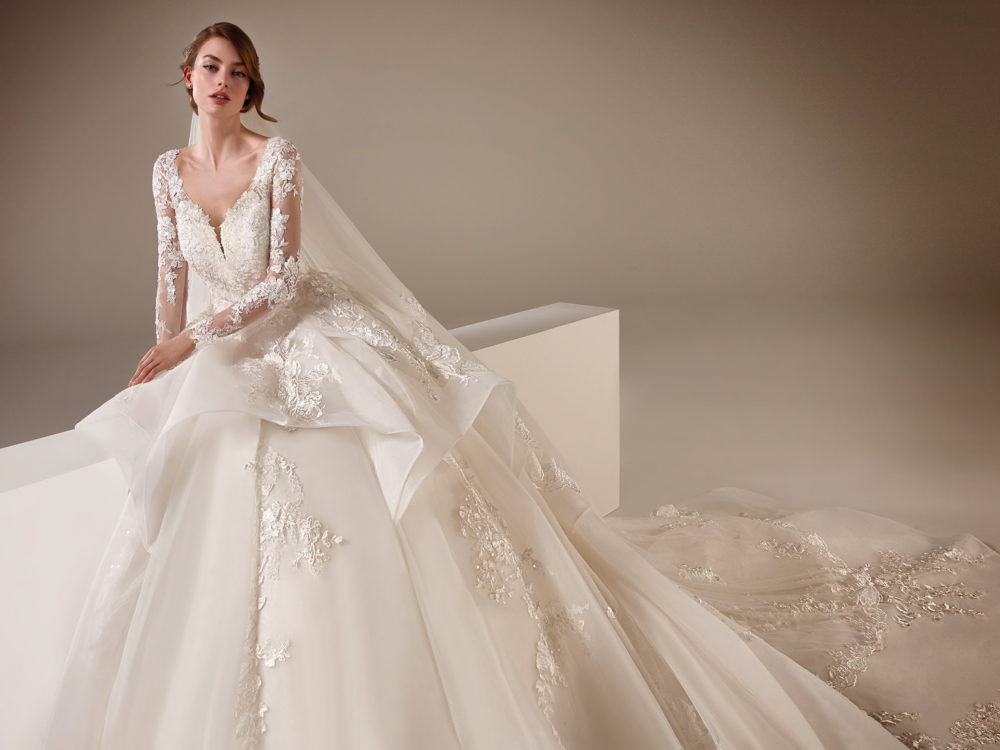 Vivienne Wedding Dress Gown from Pronovias Privee Collection D