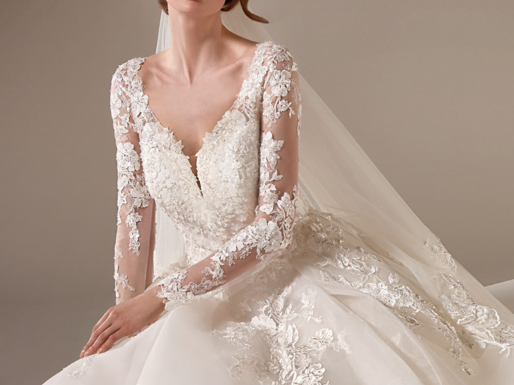 Vivienne Wedding Dress Gown from Pronovias Privee Collection E