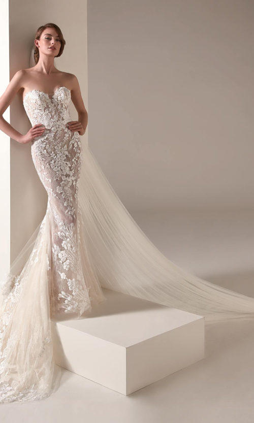 Zaha Wedding Dress Gown from Pronovias Privee Collection
