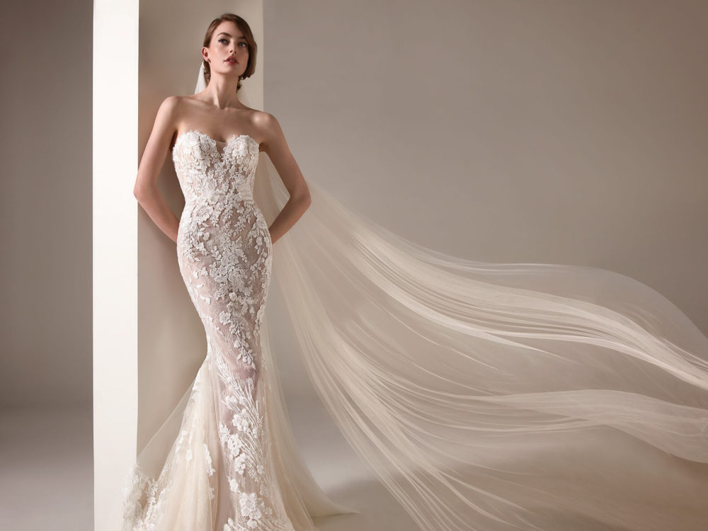 Zaha Wedding Dress Gown from Pronovias Privee Collection D