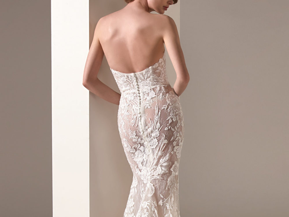 Zaha Wedding Dress Gown from Pronovias Privee Collection I