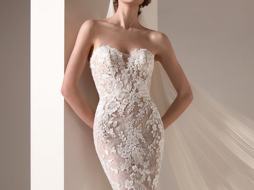 Zaha Wedding Dress Gown from Pronovias Privee Collection J