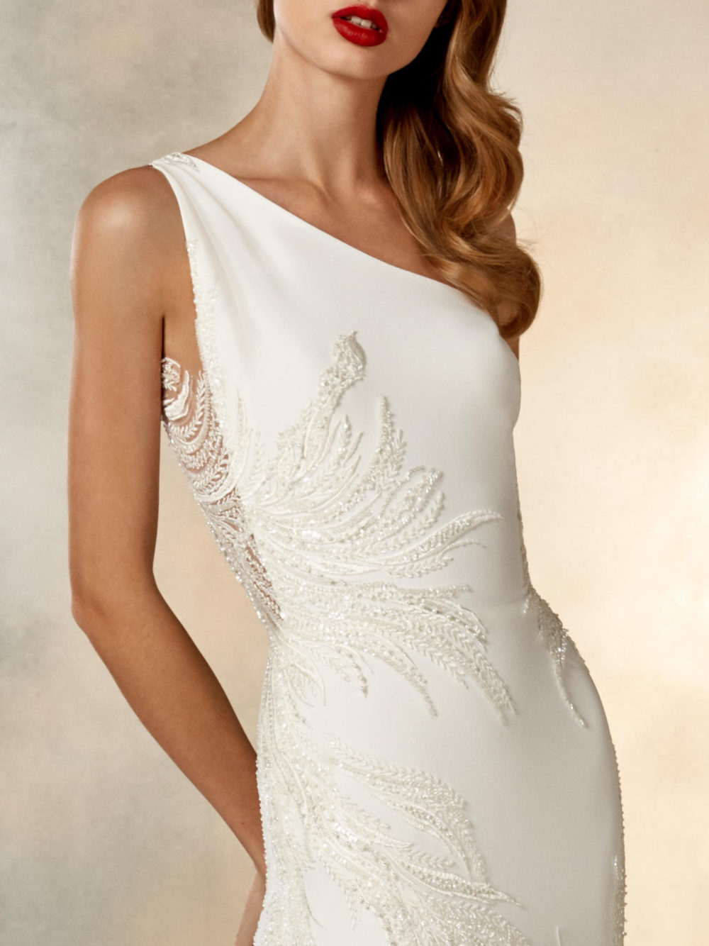 Pronovias Atelier Collection Moon Dance Wedding Gown Dress 2020 Mid Front