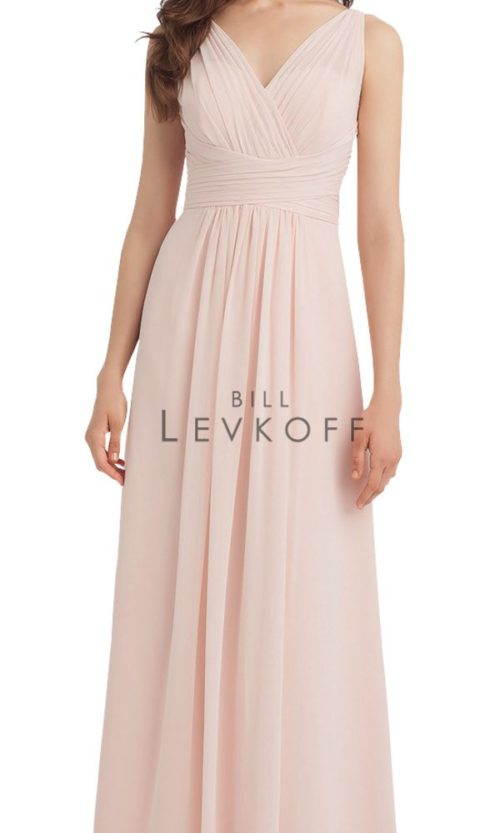 Novias Bridal Wedding Bridesmaid gown Dress Bill Levkoff style 1115