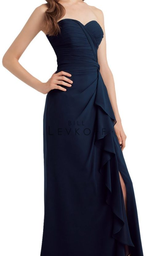 Novias Bridal Wedding Bridesmaid gown Dress Bill Levkoff style 1134