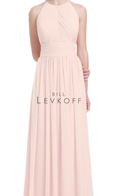 Novias Bridal Wedding Bridesmaid gown Dress Bill Levkoff style 1161