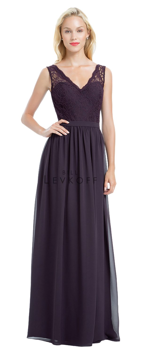 Novias Bridal Wedding Bridesmaid gown Dress Bill Levkoff style 1172