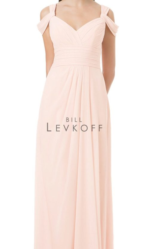 Novias Bridal Wedding Bridesmaid gown Dress Bill Levkoff style 1201