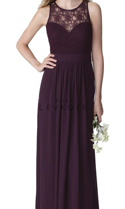 Novias Bridal Wedding Bridesmaid gown Dress Bill Levkoff style 1251