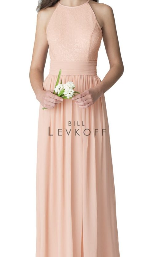 Novias Bridal Wedding Bridesmaid gown Dress Bill Levkoff style 1260