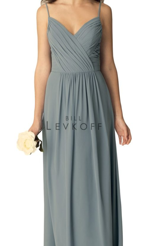 Novias Bridal Wedding Bridesmaid gown Dress Bill Levkoff style 1269