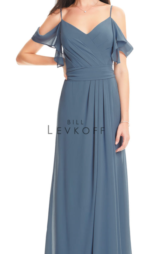Novias Bridal Wedding Bridesmaid gown Dress Bill Levkoff style 1550