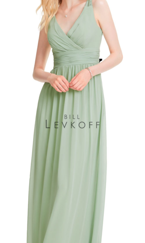 Novias Bridal Wedding Bridesmaid gown Dress Bill Levkoff style 1553