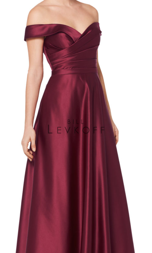 Novias Bridal Wedding Bridesmaid gown Dress Bill Levkoff style 1613