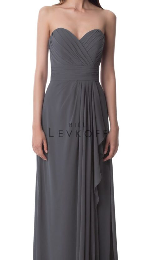 Novias Bridal Wedding Bridesmaid gown Dress Bill Levkoff style 978