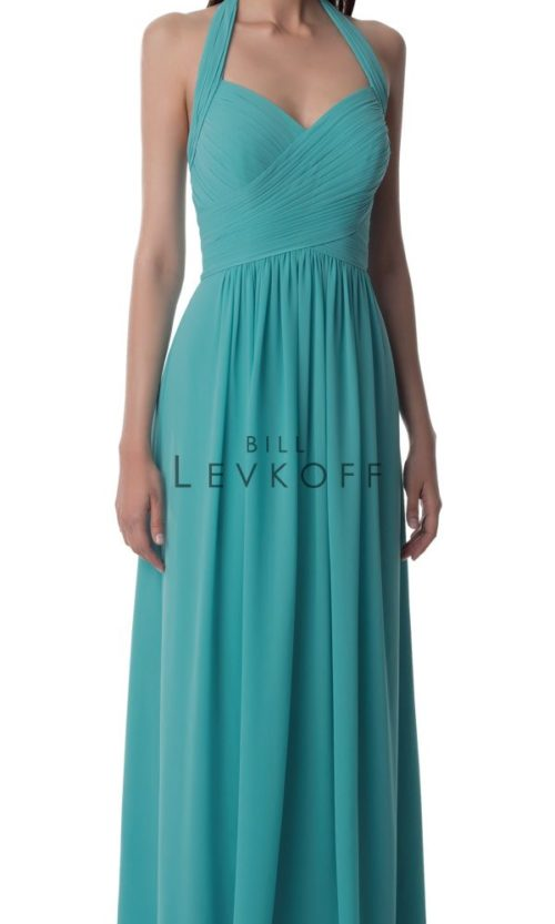 Novias Bridal Wedding Bridesmaid gown Dress Bill Levkoff style 990